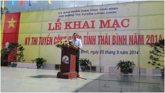 Civil servant recruitment in Thai Binh province – open and transparent competitive examination using computer-based method