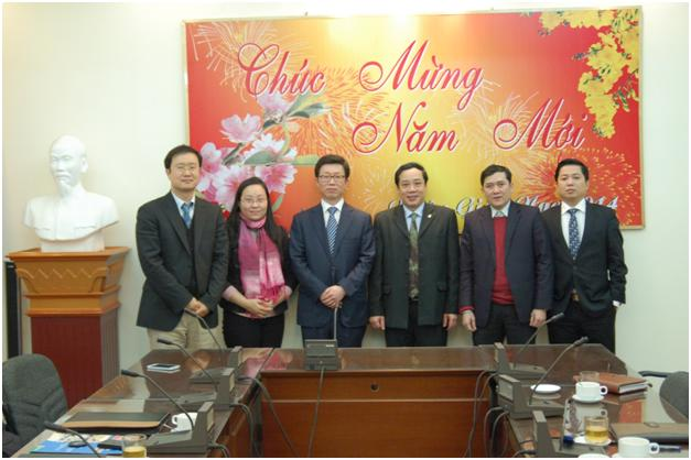 Institute for State Organizational Sciences met with Korea University