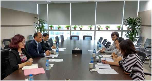 ISOS delegation worked with KOICA Vietnam on public administration